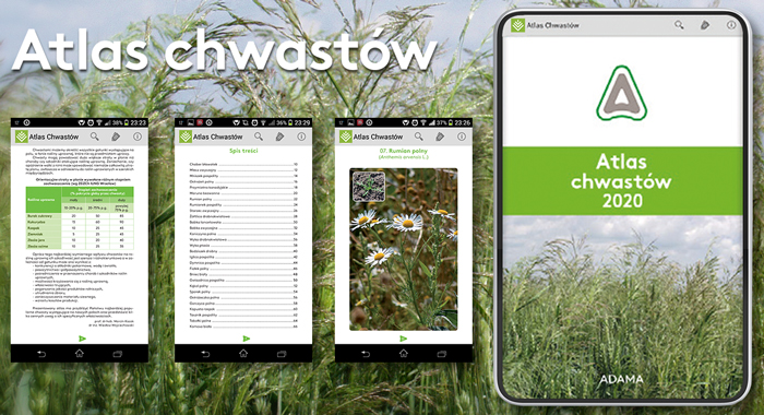 Atlas chwastów 2020 na Android